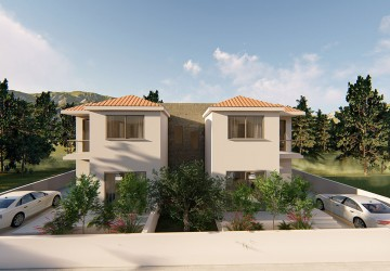 3 Bedroom Town House in Tala, Paphos